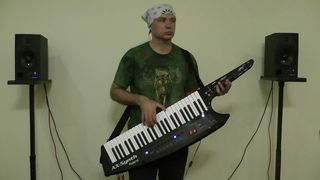 COAST TO COAST by SCORPIONS (cover on ROLAND AX-SYNTH keytar and KURZWEIL PC3X)