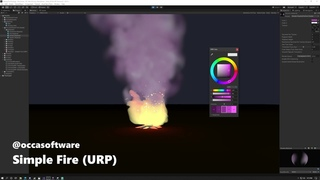 Stylized Fire for Unity