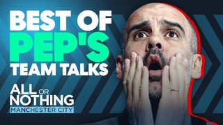 WE HAVE TO WIN FOR DAVID SILVA! | Best of Pep Guardiola's Team Talks