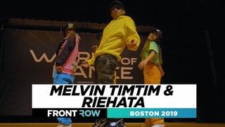 Melvin Timtim & Riehata   FRONTROW   World of Dance Boston 2019   #WODBOS19