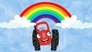 Радуга - Песенка про радугу - Тыр тыр Трактор - Песенки для детей