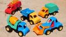 Видео про МАШИНКИ в песке - Мультики для детей Моя песочница!