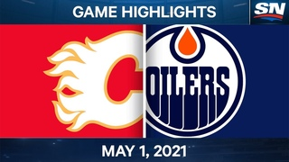 NHL Game Highlights | Flames vs. Oilers – May. 1, 2021