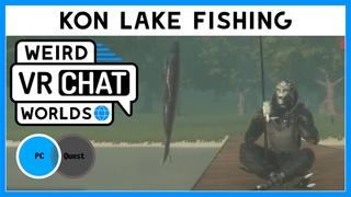 VRChat Worlds - Рыбалка на озере Кон