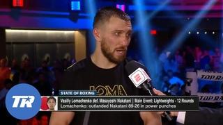 Vasiliy Lomachenko is Happy with his Performance, Wants Teofimo Lopez Next   POST-FIGHT Interview
