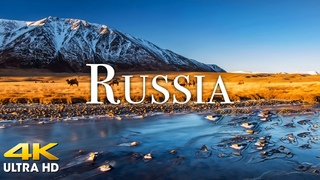 FLYING OVER RUSSIA (4K UHD) - Relaxing Music Along With Beautiful Nature Videos - 4K Video Ultra HD