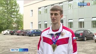 Завтра карельский тхэквондист Владислав Ларин проведет дебютный бой на Олимпиаде в Токио