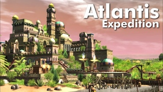 RollerCoaster Tycoon 3 Complete Edition  - Atlantis Expedition (Timelapse + POV)