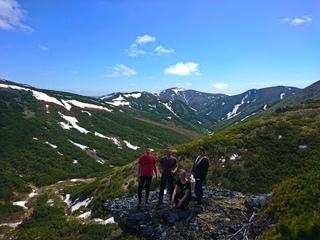 Снежная долина: Воронье гнездо и самая высокая точка горного массива 905 метров!