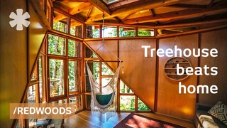 Built treehouse annex, then became their live-work respite