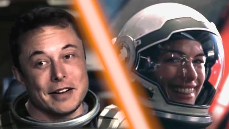 Elon Musk in Interstellar parody mashup