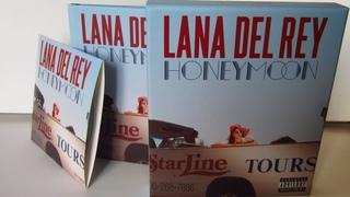 Lana Del Rey - Honeymoon / unboxing cd Box Set Limited Edition /