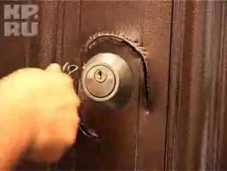 Проверка китайских дверей на взломостойкость