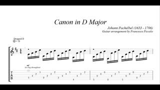 Classical Guitar - Johann Pachelbel - Canon in D Major