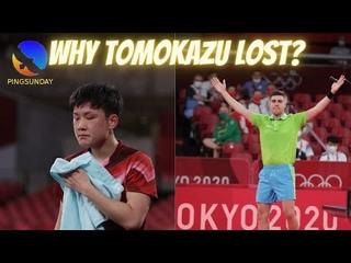 Why Tomokazu Harimoto lost in Tokyo Olympics?