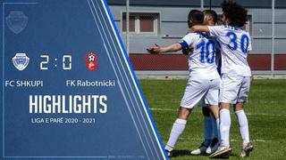 HIGHLIGHTS   FC Shkupi vs FK Rabotnicki 2-0 (0-0)