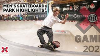 MEN'S SKATEBOARD PARK: HIGHLIGHTS | X Games 2021