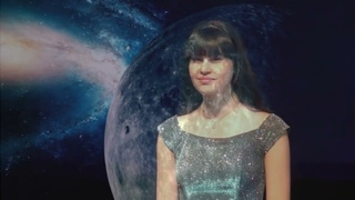 """Фэнтези-песня для """"Голоса Галактики"""" Дианы Анкудиновой """"Желтая луна"""" (сделанo пoклонникoм)"""