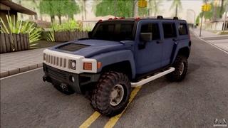 Стрим онлайн-игры RolePlay Малиновка CRMP - развоз на хаммере