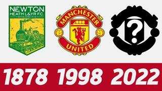 ⚽ Эволюция Логотипа Футбольного Клуба Манчестер Юнайтед   Все логотипы Манчестер Юнайтед ⚽