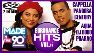 90's Best Eurodance Hits Vol.6 (Serega Bolonkin Video Mix) │ Лучшие танцевальные хиты 90 (Видеомикс)