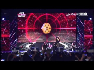 [HD] 130609 EXO - WOLF at Live Power Music