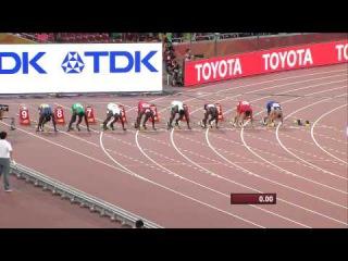 Femi Ogunode 9 99 100m Heat 3 IAAF World Championships Beijing 2015