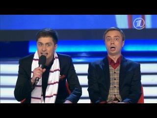 КВН (Парапапарам) - Губерниев и Черданцев комментируют открытие Олимпиады в Сочи