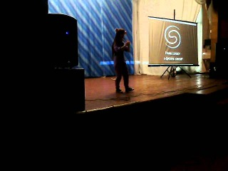 DragonFest 2015 - SofiaTaro - Chrono Cross – Time's Scar Tin whistle flute cover live