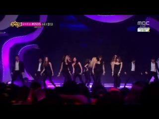 140315 Girls' Generation - . (MBC Music Core)