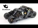 Lego Super Heroes 76023 The Tumbler. Speed Build. brick builder. бэтмобиль 2008 тёмный рыцарь