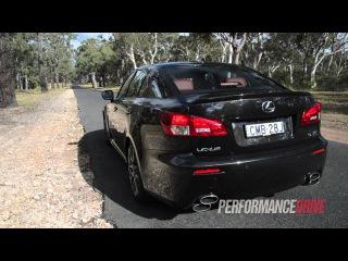 2013 Lexus IS F engine sound and 0-100km/h