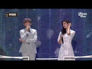 161202 2016 MAMA EXO Baekhyun & Suzy 백현 x 수지 DREAM