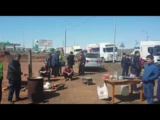 Оренбургская стачка дальнобойщиков