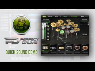 Naughty Seal Audio PERFECT DRUMS // Sound Demo & my preset | Develop Device