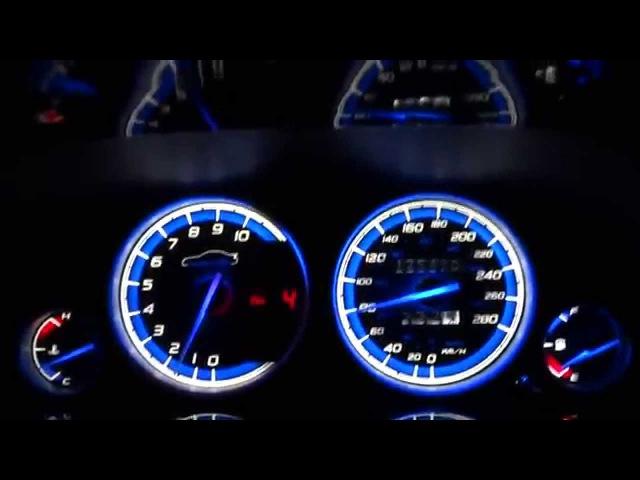 Honda Prelude 5th gen 97 01 gauge cluster mod