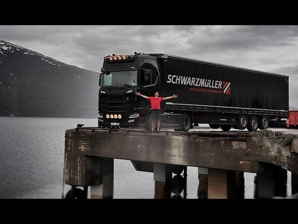 Reiss uz Lofoten Trucking to lofoten