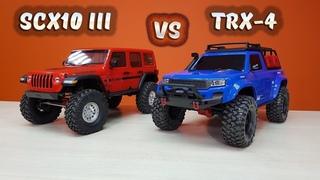 ВСЕ ПОБЕЖАЛИ ПОКУПАТЬ Axial SCX10 3 ... А стоит ли? Сравнительный тест против Traxxas TRX-4 Sport