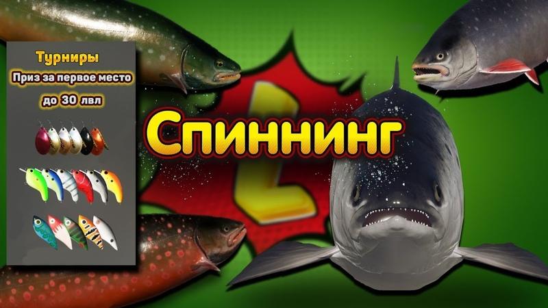ПАЛИЯ◦ЛОСОСЬ ВОЛХОВ◦АРКТИК◦СПИННИНГ ◦level◦Русская рыбалка 4