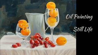 유화 정물화, Still life,Oil Painting