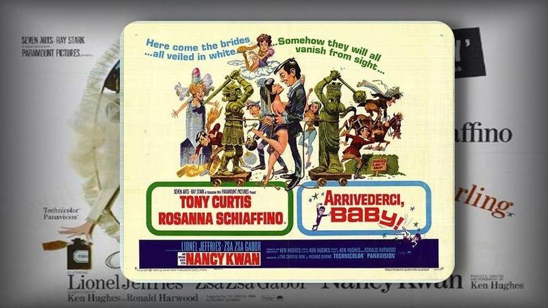 Чтоб ты сдохла дорогая Авантюрная комедия Великобритания 1966