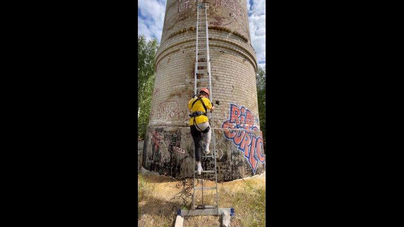 Прыжок с башни 60 метров 😰
