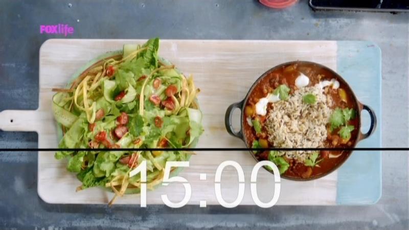 Обеды за 15 минут с Джейми Оливером 1 сезон 37 серия