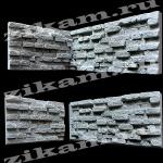 СЛАНЕЦ МОЗАИК /внутренний стыковой угол/ форма полиуретановая