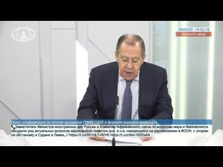 Пресс-конференция по итогам заседания СМИД ОДКБ