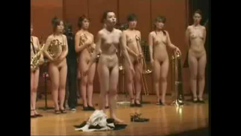 CMNF оркестр голых японок