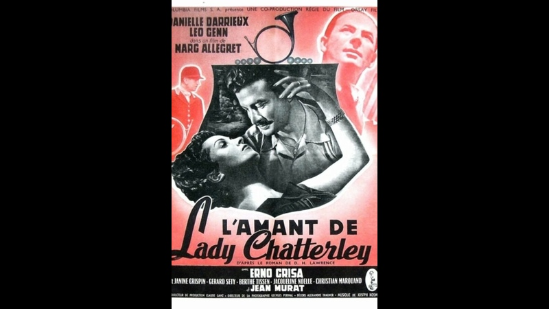 Любовник леди Чаттерлей 1955 Франция драма