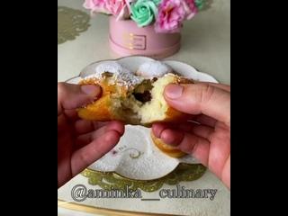 Идеальные пончики (ингредиенты в описании видео)
