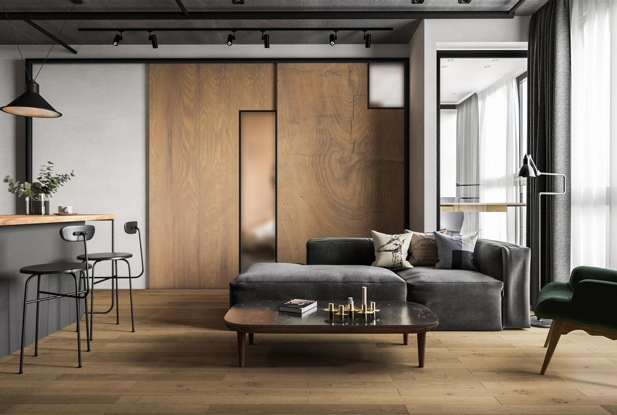 Дизайн-проект квартиры 45 кв.