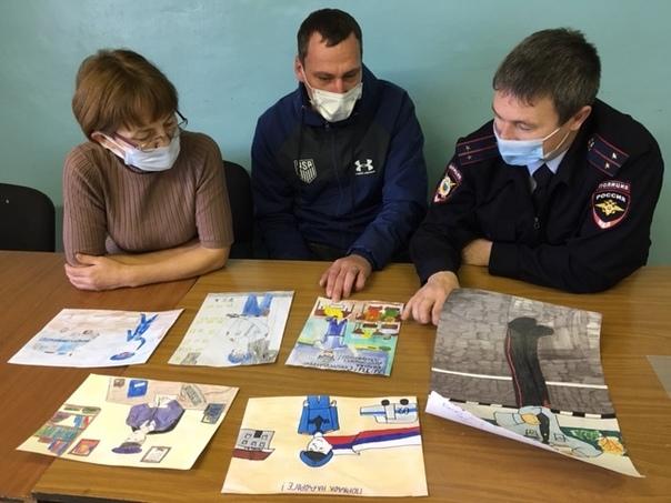 Сотрудники ОВД и общественники подводят итоги перв...